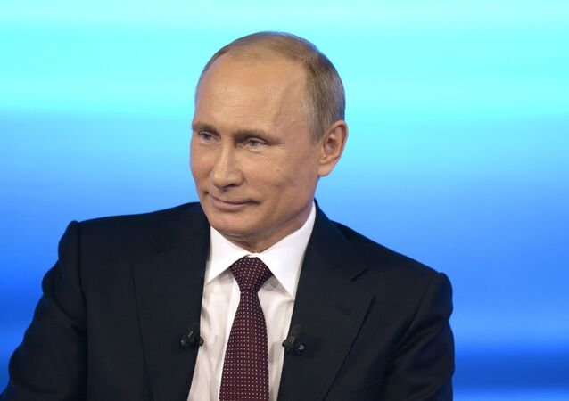 Live broadcast with Vladimir Putin