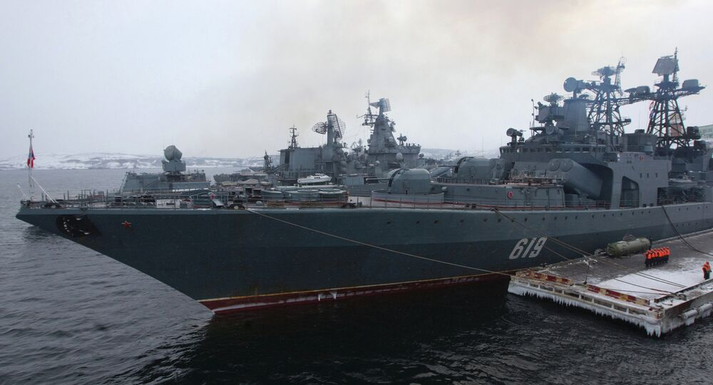 Severomorsk destroyer