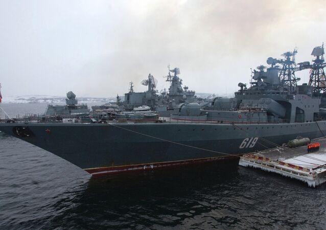 Severomorsk destroyer