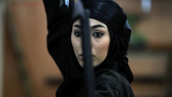 An Iranian female Ninja - Sputnik International