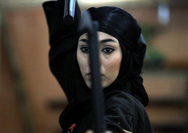 An Iranian female Ninja