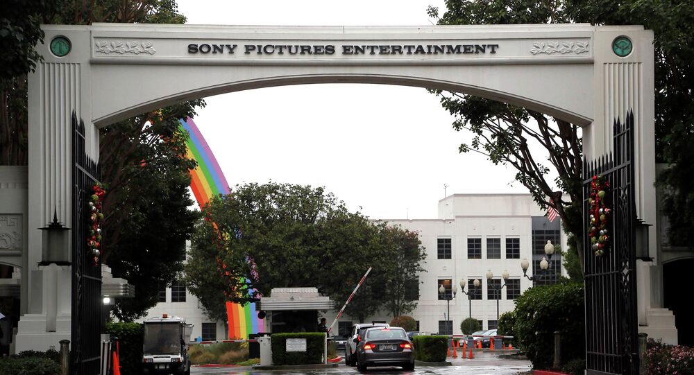 Sony Pictures Entertainment headquarters in Culver City, Calif