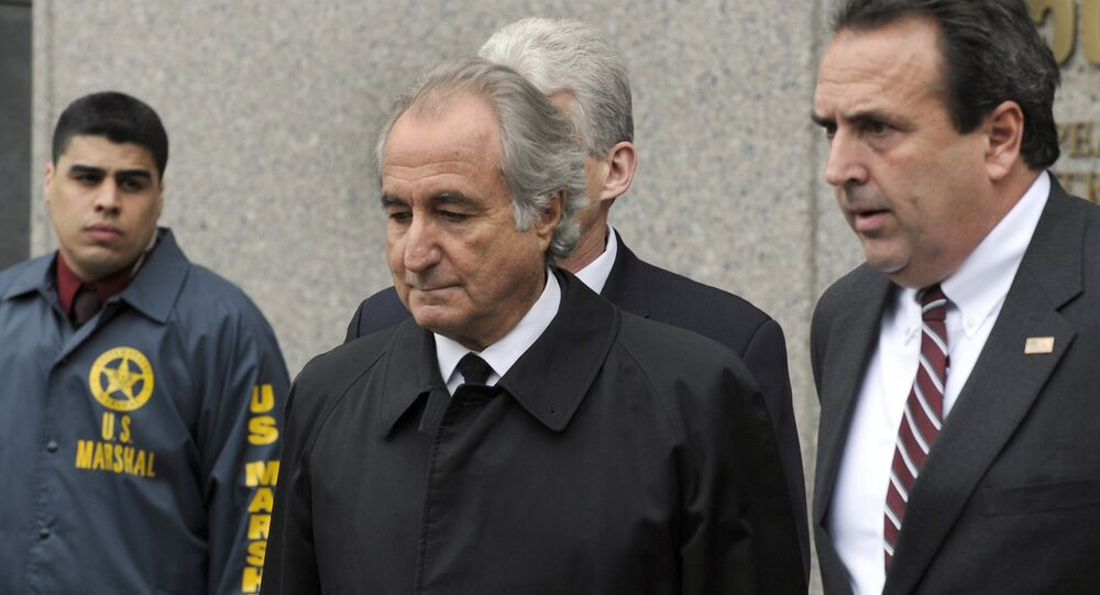 Disgraced Wall Street financier Bernard Madoff leaves US Federal Court after a hearing on March 10, 2009 in New York