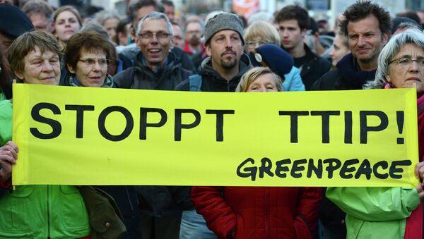 Greenpeace activists - Sputnik International