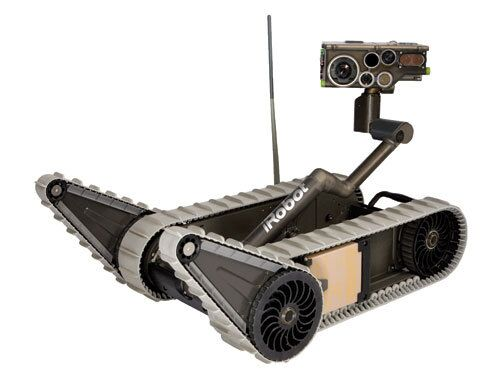 The XM1216 is a lightweight, man portable Small Unmanned Ground Vehicle (SUGV) manufactured by iRobot.