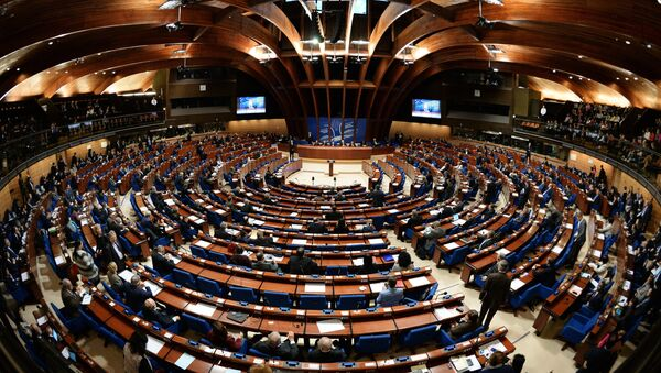 Delegates at a plenary meeting of the Parliamentary Assembly of the Council of Europe (PACE) - Sputnik International