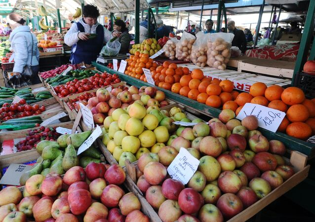 Food fair in Rostov-on Don