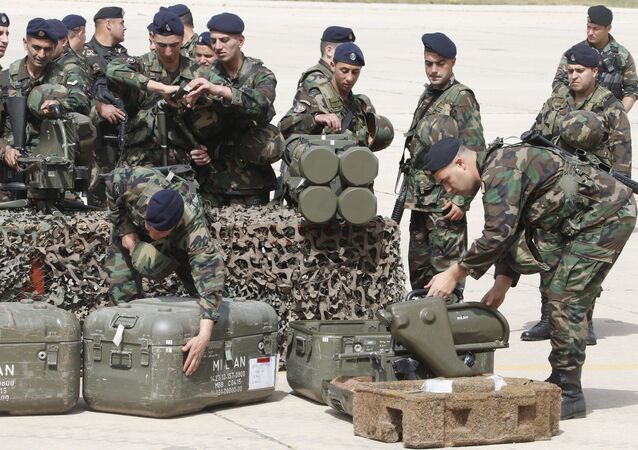 Lebanese army soldiers. File photo