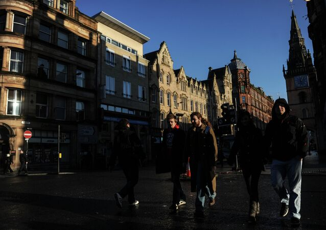 World cities. Glasgow