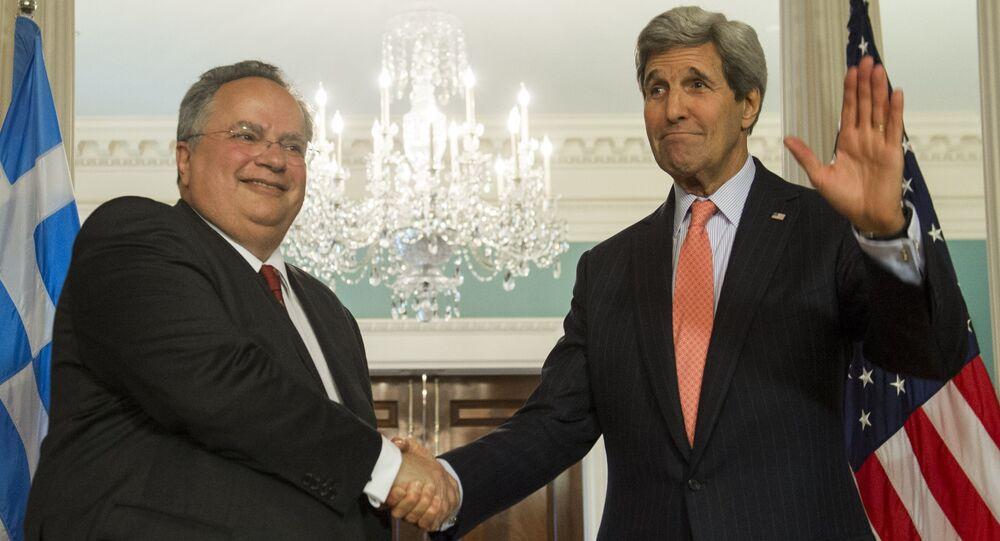 Nikos Kotzias / John Kerry
