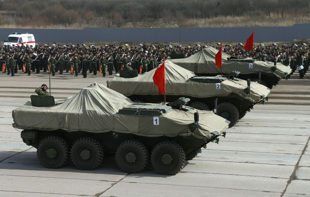 Weapons on Parade: Moscow's Victory Day Rehearsals