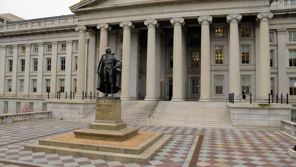 The US Treasury. - Sputnik International
