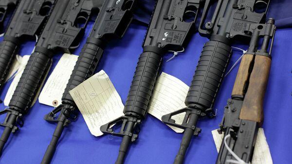Cop of the Year Caught on Video Trafficking Guns for Infamous Drug Cartel - Sputnik International