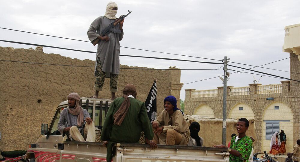 Fighters from Islamist group