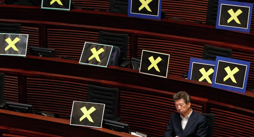 Top Chinese Official Outlines Plan to Ensure 'Patriots' Run Hong Kong