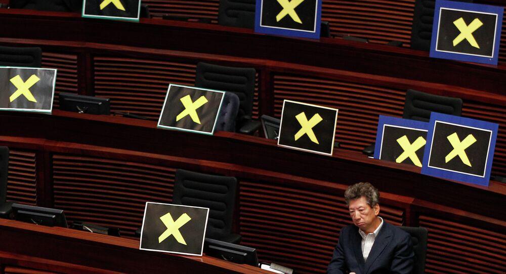 Beijing official signals Hong Kong electoral reforms to ensure 'patriots' govern