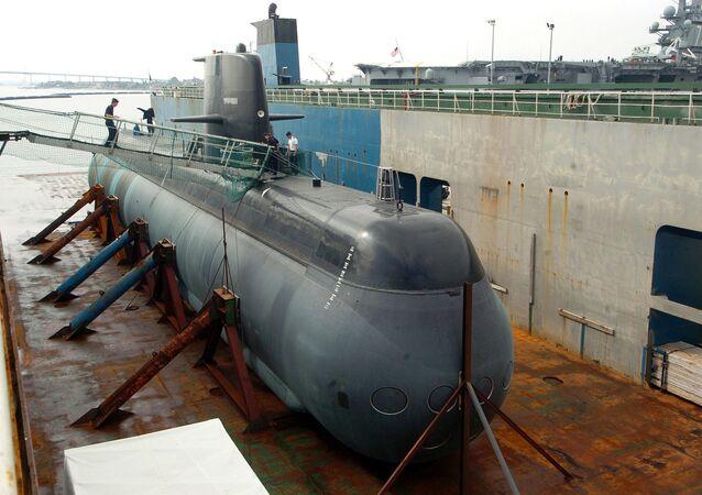 Sweden's Gotland Class diesel-electric submarine