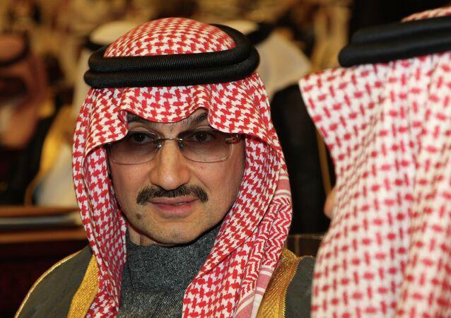 Saudi billionaire Prince Alwaleed bin Talal