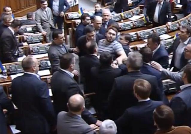 Scuffle in Rada