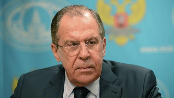 Foreign Minister Sergey Lavrov gives interview to Ekho Moskvy, Govorit Moskva - Sputnik International