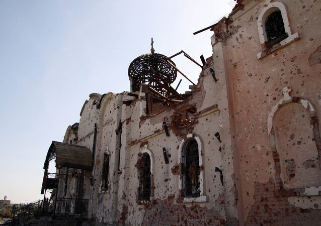 The temples in Donetsk destroyed during military operations