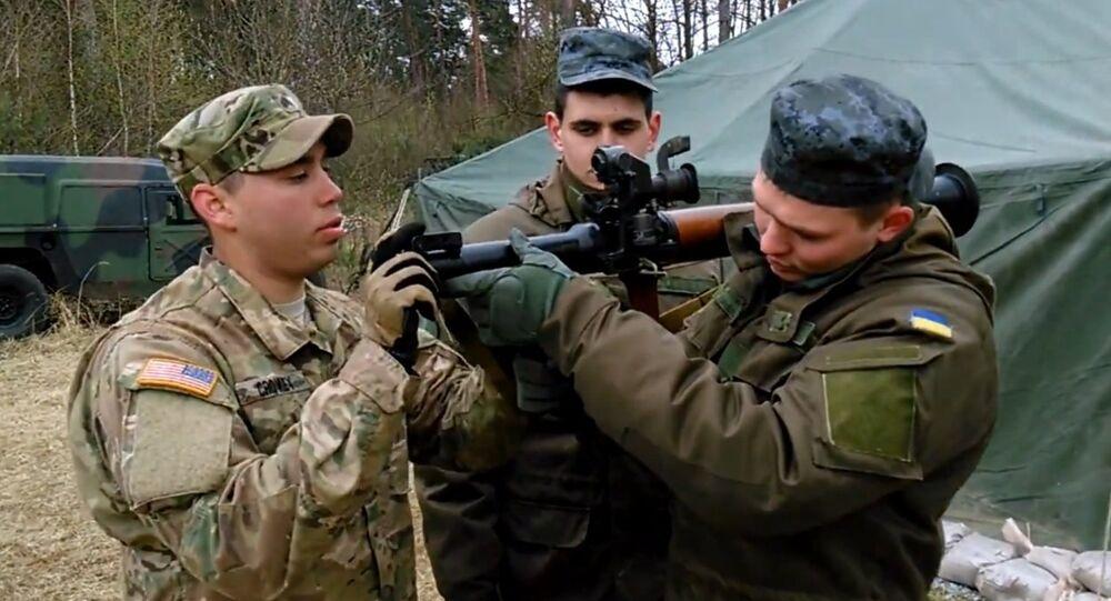 American soldiers in Ukraine
