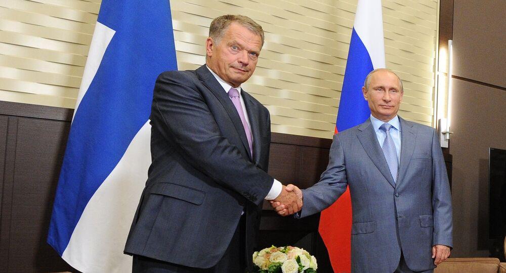 Vladimir Putin meets with President of Finland