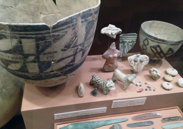 Some of the 108 Ancient Persian artifacts returned to Iran