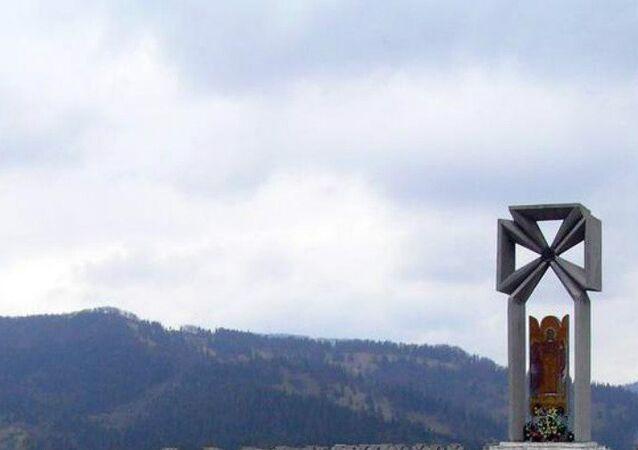 Makovka mountain memorial