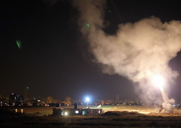 Iron Dome system intercepts Gaza rockets aimed at central Israel