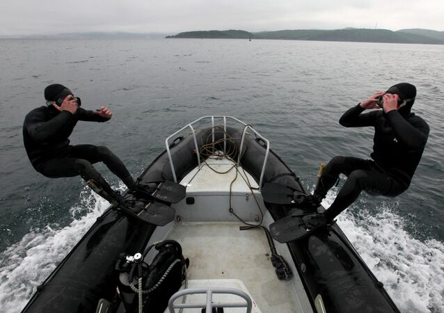 Russian frogmen from the Pacific Fleet have conducted two days of military tactical live fire drills on the Kamchatka Peninsula, the Russian Defense Ministry's Eastern Military District's press service said Friday
