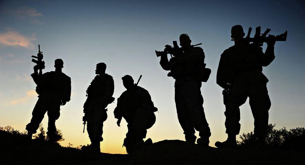 Marines Mentoring Afghan Soldiers