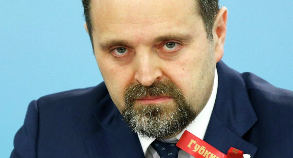 Russia's Minister of Natural Resources Sergey Donskoy