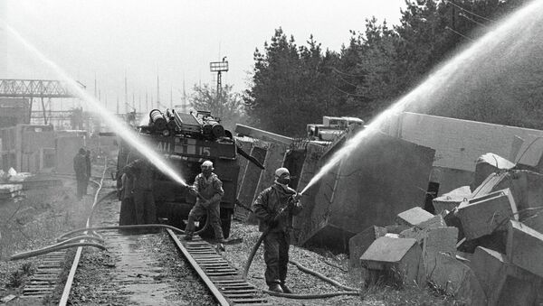 Decontamination of the Chernobyl NPP territory - Sputnik International