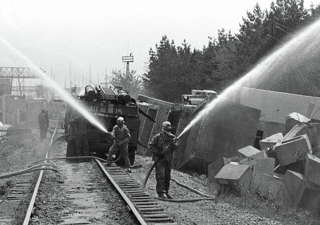 Decontamination of the Chernobyl NPP territory