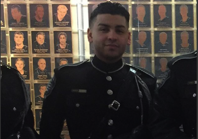 A personal photo of Pedro Abad in dress uniform