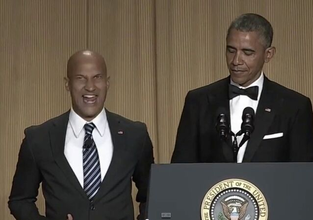 President Obama and Keegan-Michael Key Perform at the White House Correspondents' Dinner