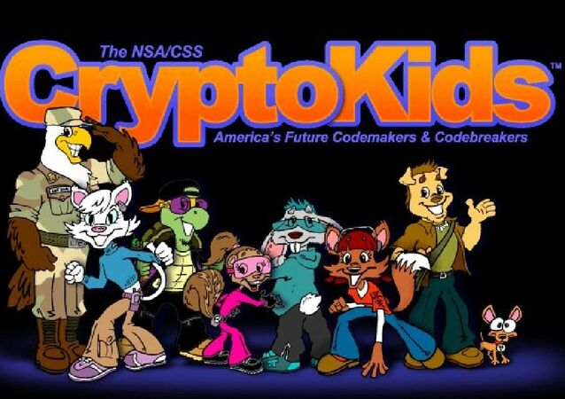 NSA for kids - cryptokids