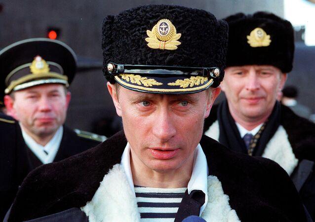 Vladimir Putin in Severomorsk