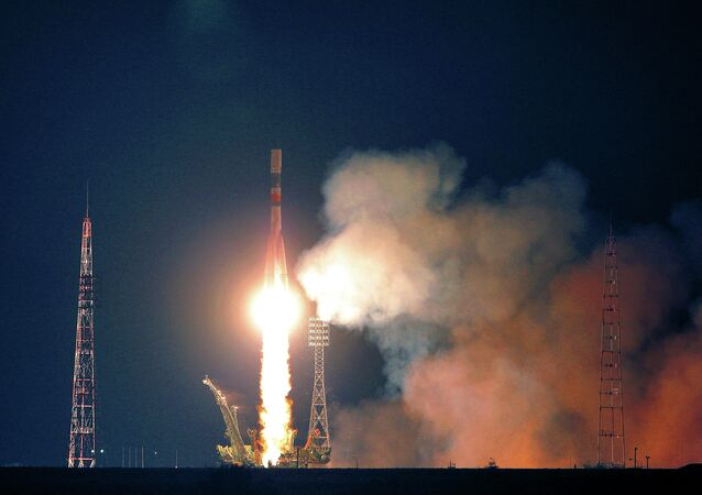 Progess cargo shpaceship launched to ISS