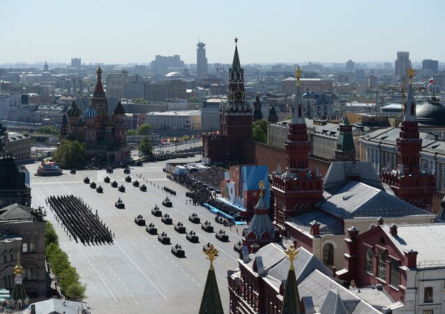 Parade on 69th anniversary of victory in Great Patriotic War
