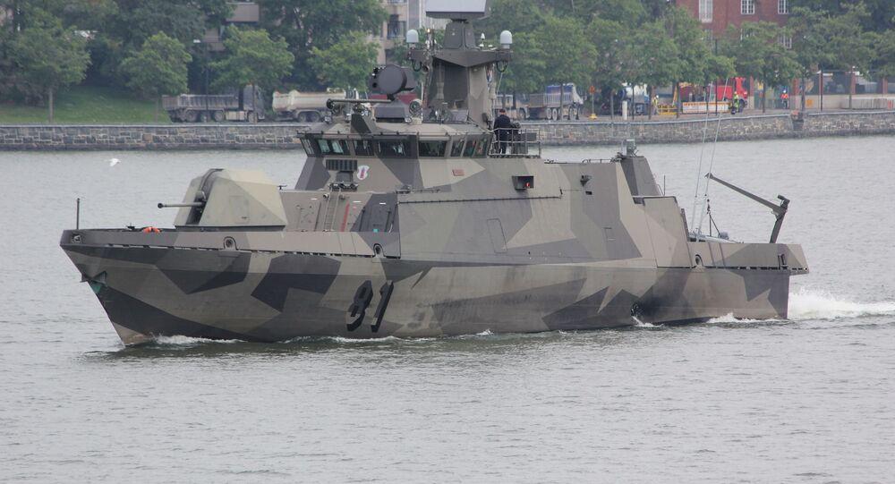 Finnish missile boat Tornio