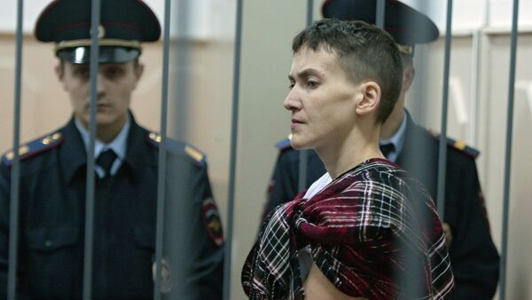 Court considers appeal on cosolidation of two Savchenko cases - Sputnik International