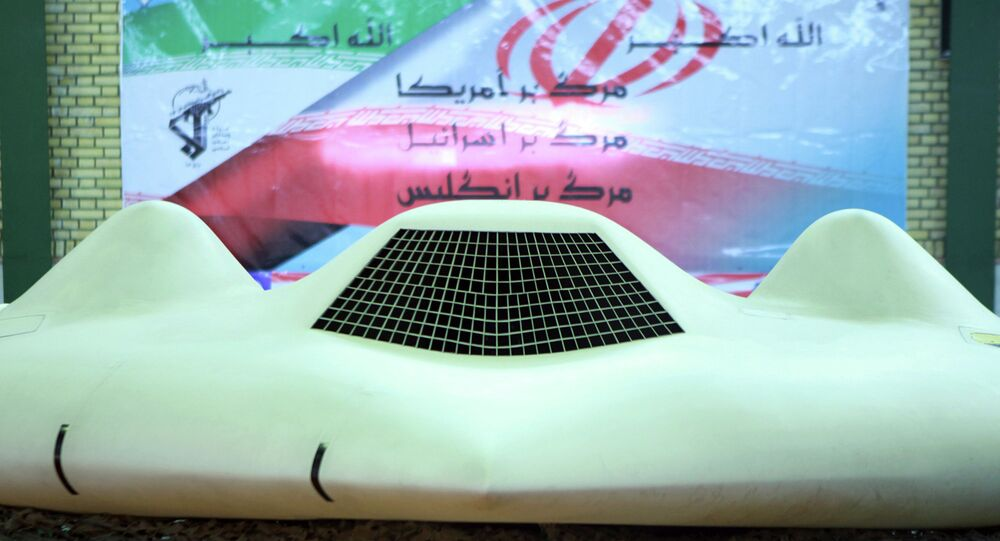 The information to hack a military drone - as Iran claims it did to capture the drone pictured here in 2011 - is freely available to the public online, according to an Israeli defense manufacturer.
