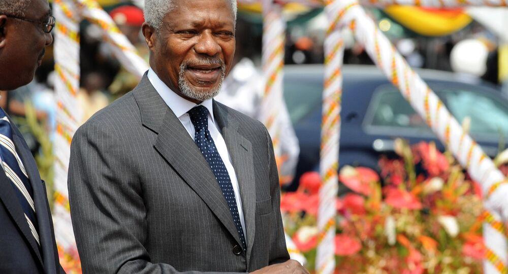 Former Secretary-General of the United Nations Kofi Annan