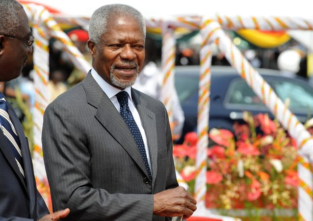 Former Secretary-General of the United Nations Kofi Annan
