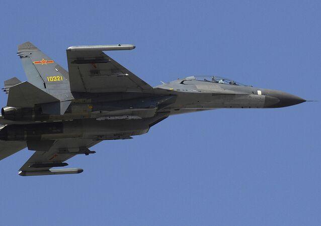 J-11 fighter jet