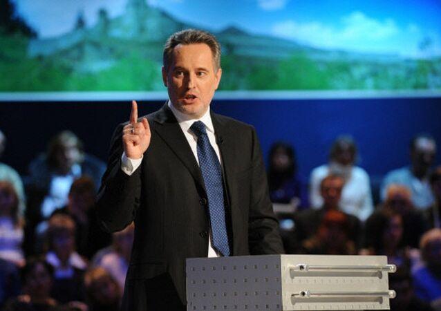 Ukrainian businessman Dmitry Firtash