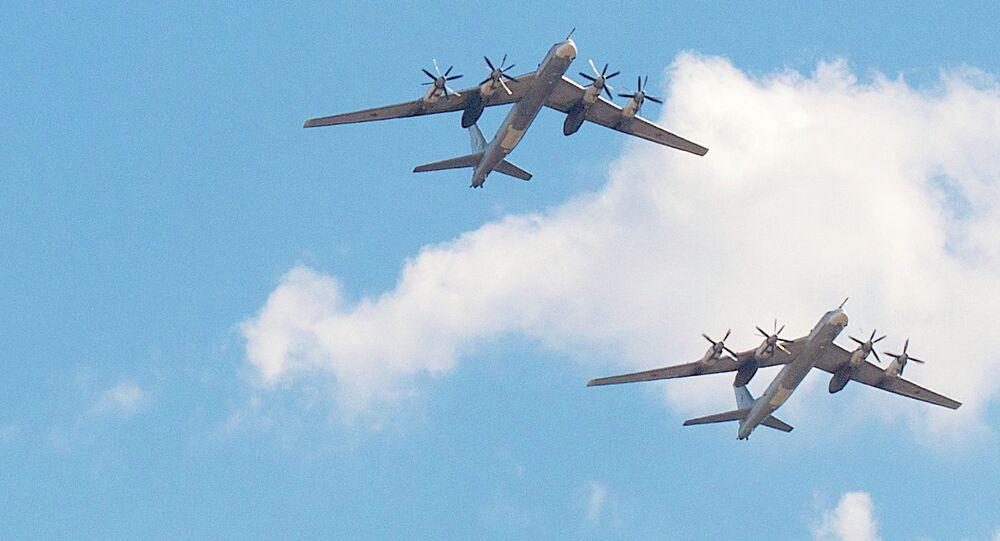 Tupolev Tu-95 bombers