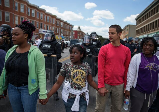 Baltimore Rally After Freddie Gray's Death